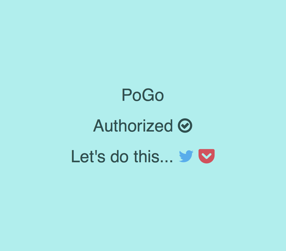 PoGo Authorised Page